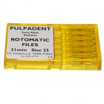 Pulpadent Rotomatic Files